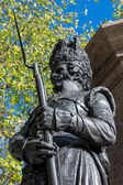 Statue 42nd Royal Highlander on the Duke of Wellington Monument — Foto de Stock