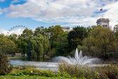 Fuente en st. james park — Foto de Stock