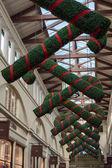 Christmas deorations in Covent Garden — Stock fotografie