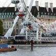 Stock fotografie: View along River Thames