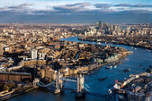 View from the Shard — Stockfoto