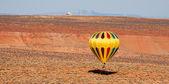 Hot air ballooning — Stock Photo