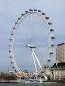 London uk mars 2014 - syn på london eye — Stockfoto