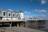 CARDIFF UK MARCH 2014 - View of Penarth Pier — Stock Photo