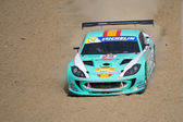 Michelin Ginetta GT4 Supercup race March 2014 — Stock Photo