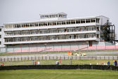 Stadium at Brands Hatch racing track — Stock Photo