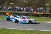 British Touring Car Championship Race March 2014 — Stock Photo