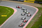 Formula Ford Race March 2014 — Stock Photo