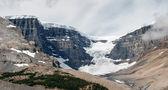 Athabasca Glacier in Jasper National Park — Stock Photo
