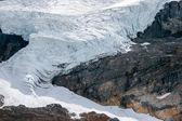 Athabasca gleccser a jasper nemzeti parkban — Foto de Stock