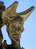 サルバドール ダリ マルベーリャの彫刻 — ストック写真