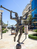 Salvador Dali sculpture in Marbella — Stockfoto