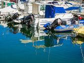 Boats in the marina at Marbella — Stock Photo