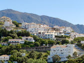 View of Casares in Spain — Stok fotoğraf