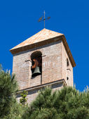 Church tower in Casares Spain — Stock Photo