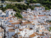 View of Casares Spain — Stockfoto