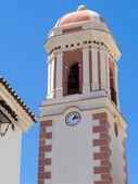 Belfry of church in Estepona Spain — Stock Photo