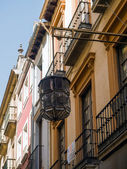 Old lamp in Granada — Stock Photo