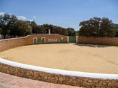 Farm near Ronda complete with bullring — 图库照片