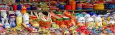 Market stall in Benalmadena — Stock Photo