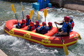 Water Sports at the Cardiff International White Water Centre — Stockfoto