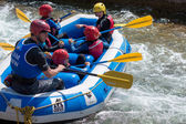 Water Sports at the Cardiff International White Water Centre — Stock Photo
