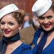 Smiling women at the Goodwood Revival — Stock Photo #47716519