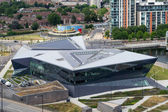 Siemens Urban Sustainability Centre in Docklands London — Stock Photo