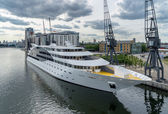 Sunborn Hotel Royal Victoria Dock — Stock Photo