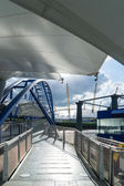 North Greenwich Riverbus terminal — Stock Photo