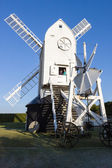 Jill windmill on South Downs Way Clayton near Brighton East Suss — Stock Photo