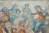 Ancient mosaic from the House of Aion in Paphos Cyprus — Stock Photo