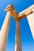 Temple of Apollo near Kourion Cyprus — Stock Photo