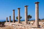 Temple of Apollo near Kourion Cyprus — Photo