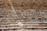 Restored ampitheatre  in the ruins at Kourion in Cyprus — Stock Photo