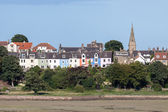 View of Alnmouth village — Stock Photo