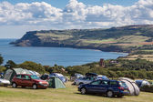 Robin Hood's Bay in North Yorkshire — Stock Photo