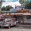 Snow Car in Seligman on Route 66 — Stock Photo
