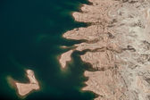 Aerial view of Lake Mead — Stock Photo