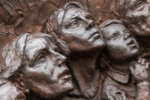 Close-up of part of Battle of Britain War Memorial — Foto de Stock