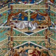 Detailed view of part of the ceiling in Ely Cathedral — Stock Photo #50061287