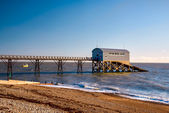 Selsey Bill Lifeboat Station — Stock Photo