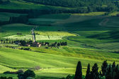 Farmland in Val d'Orcia Tuscany — Stock Photo