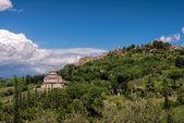 View of San Biagio church Tuscany — Stock Photo