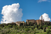 View of Pienza in Tuscany   — Stock Photo