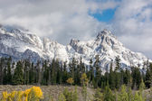 Scenic view of the Grand Teton National Park — Stock Photo