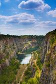 Quarry America in Czech republic — Stock Photo