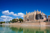 Cathedral Mallorca — Stock Photo