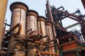 Steel factory — Stock Photo
