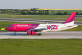 A320 Wizzair — Stock Photo
